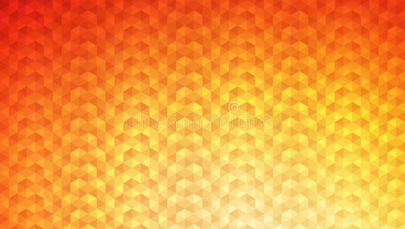 Dreieck Diamond Vector Background stockfoto