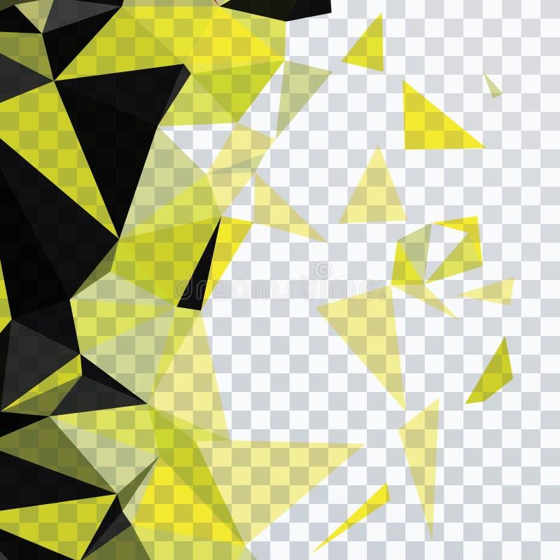 Dreieck und Quadrat stockbild