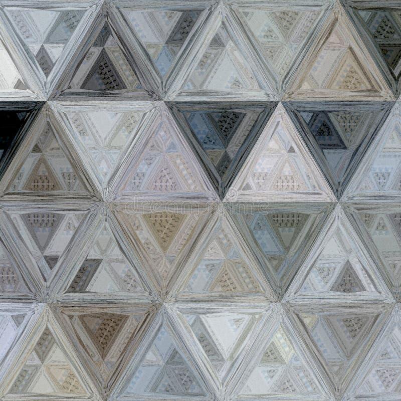 Dreieckbuntglasverzierung für eleganten Hintergrund oder Fahne stockbild