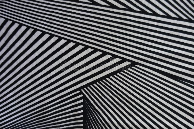 Dreieckdruck auf Polyester-Gewebe lizenzfreies stockfoto