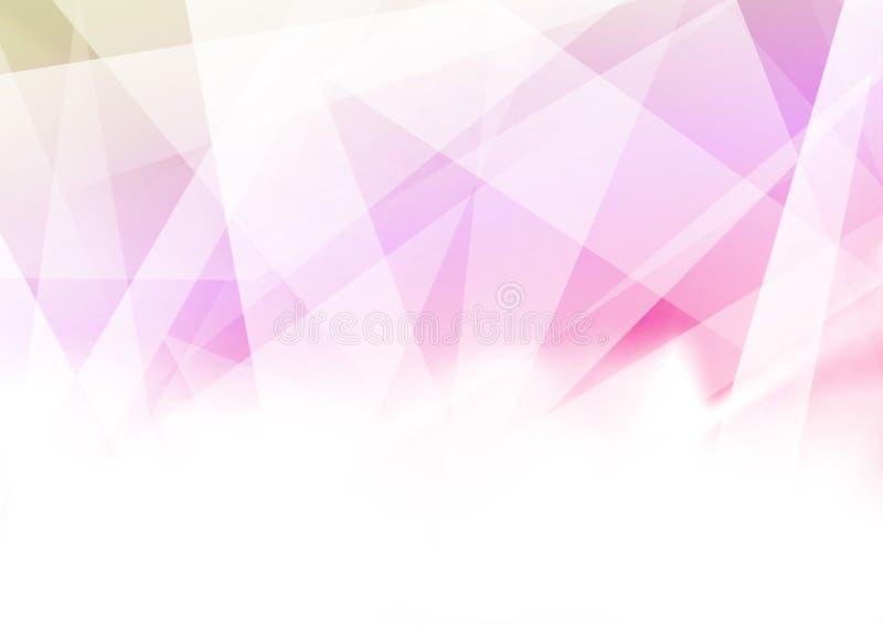 Dreieckiger abstrakter geometrischer heller bunter Hintergrund mit vektor abbildung