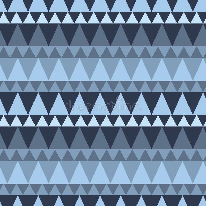Download Dreieckiger Waldgebirgsnahtloses Muster Vektor Abbildung - Illustration von element, wald: 106802031