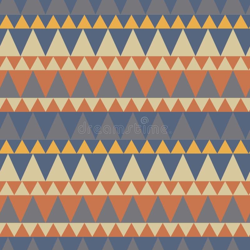 Download Dreieckiger Waldgebirgsnahtloses Muster Vektor Abbildung - Illustration von auszug, dreieckig: 106802214