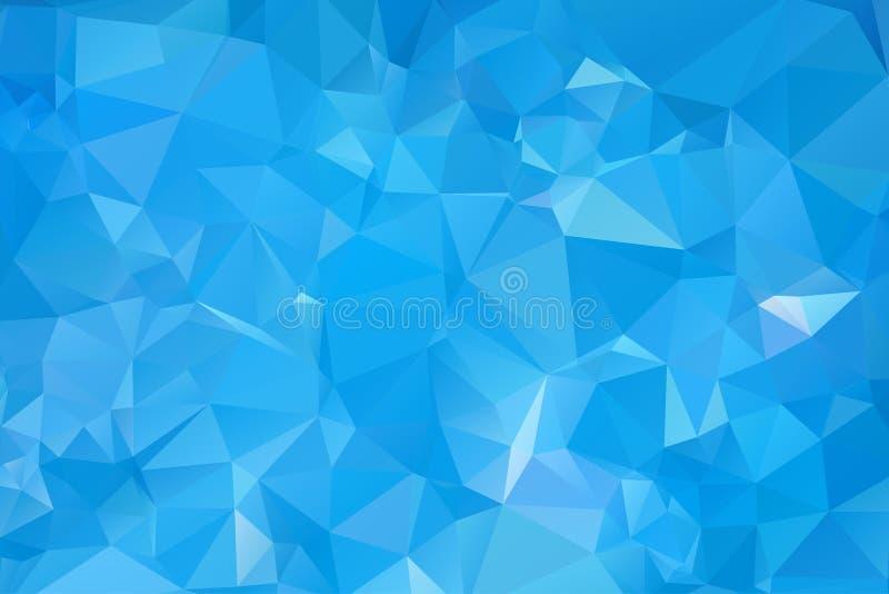 Dreieckiges Muster des abstrakten abstrakten Wassers lizenzfreie stockfotografie