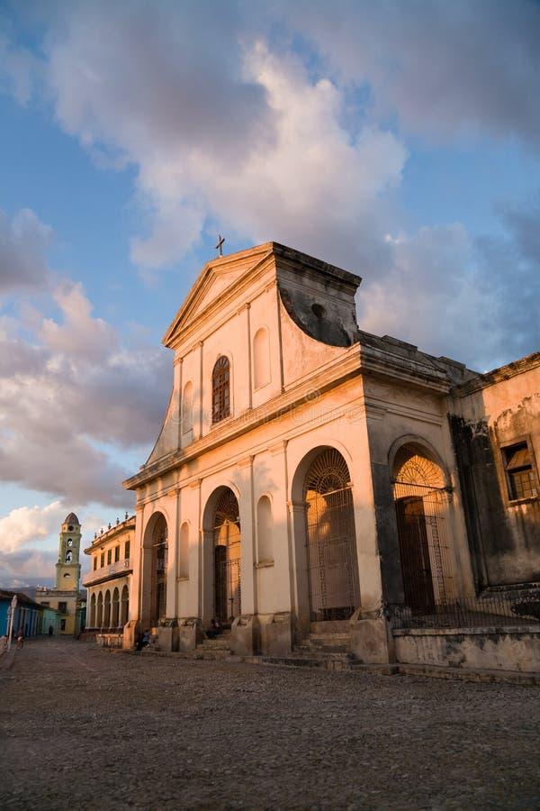 Dreifaltigkeit-Kirche, Trinidad, Kuba lizenzfreie stockbilder
