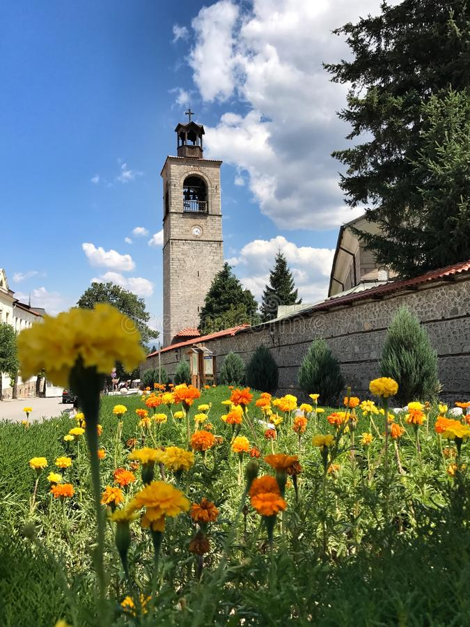 Dreifaltigkeitskirche, Bansko, Bulgarien lizenzfreies stockbild