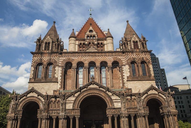 Dreifaltigkeitskirche, Boston stockfotos