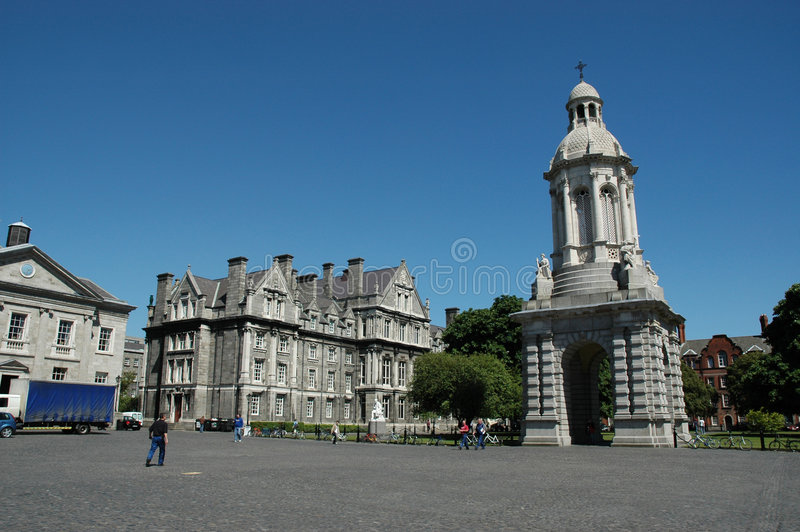 Dreiheit-Hochschule Dublin lizenzfreie stockbilder