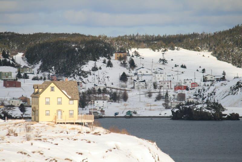 Dreiheit im Winter lizenzfreie stockfotografie
