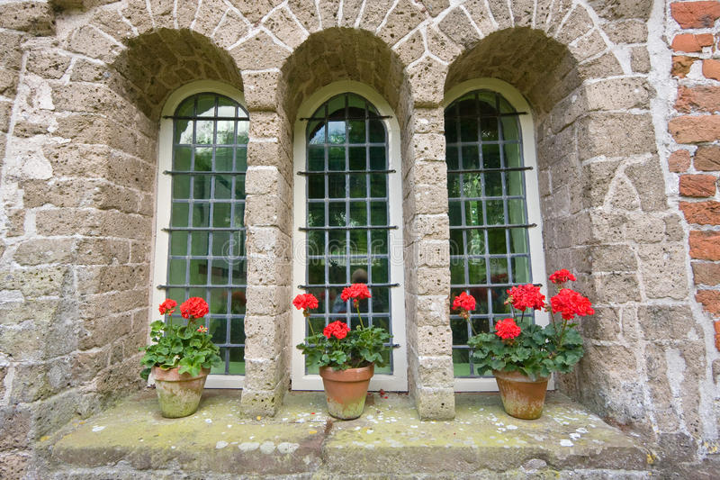 Dreiheitfenster lizenzfreies stockbild