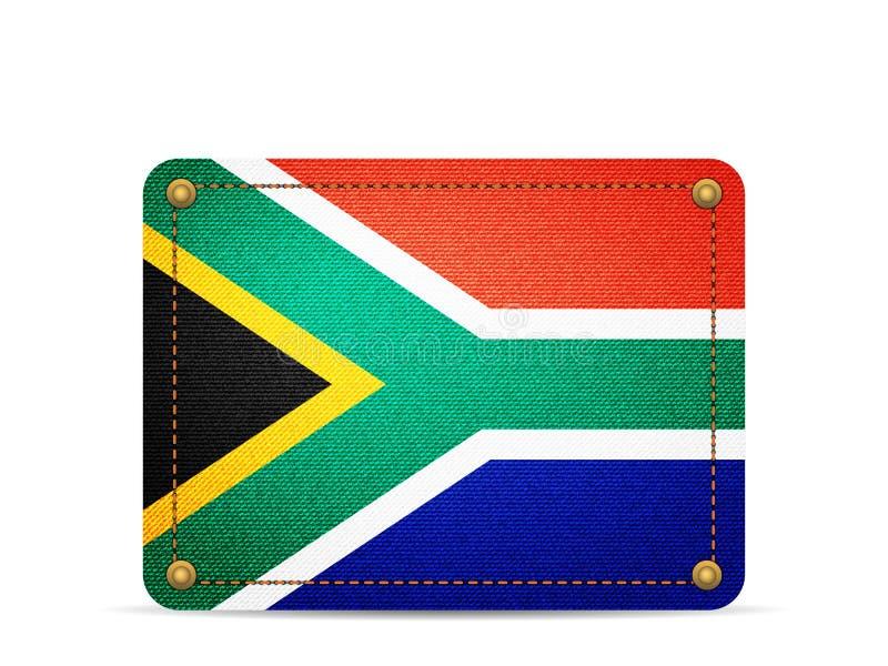 Drelichowa Południowa Afryka flaga ilustracji