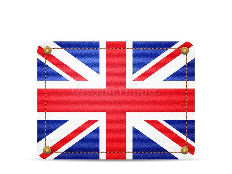 Drelichowa UK flaga royalty ilustracja