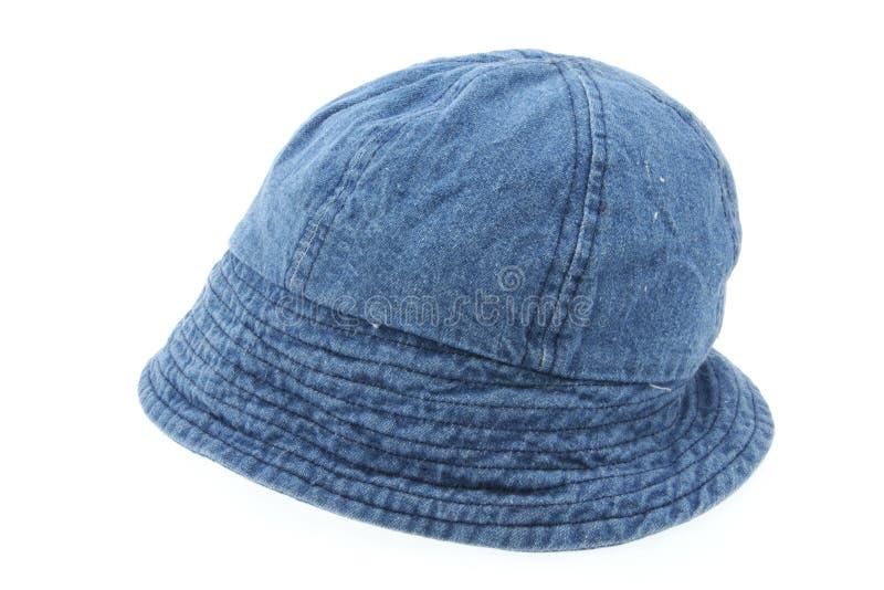 drelichowy biały kapelusz zdjęcia royalty free
