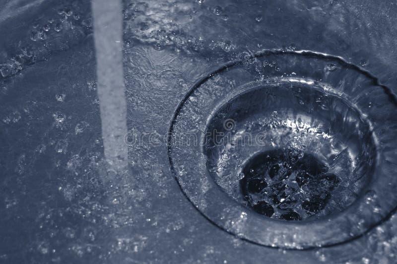 Dren del agua foto de archivo libre de regalías
