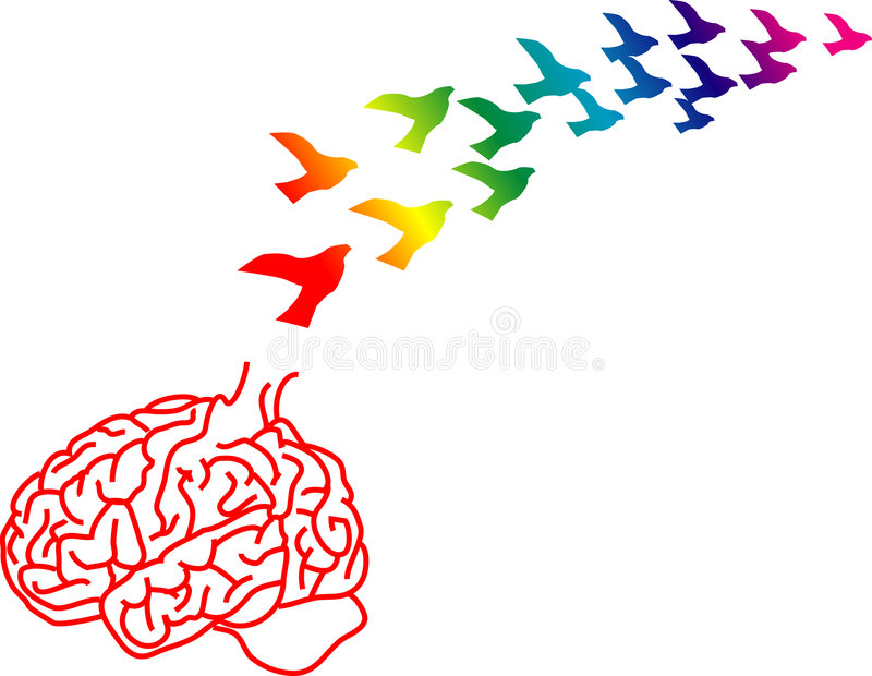 drenaż mózgów ilustracji