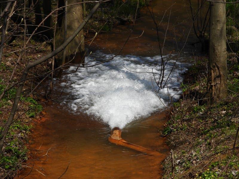 Drenagem da água potável imagens de stock royalty free