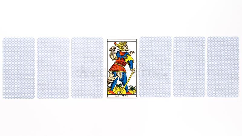 Drenaje mate de la carta de tarot imagen de archivo libre de regalías