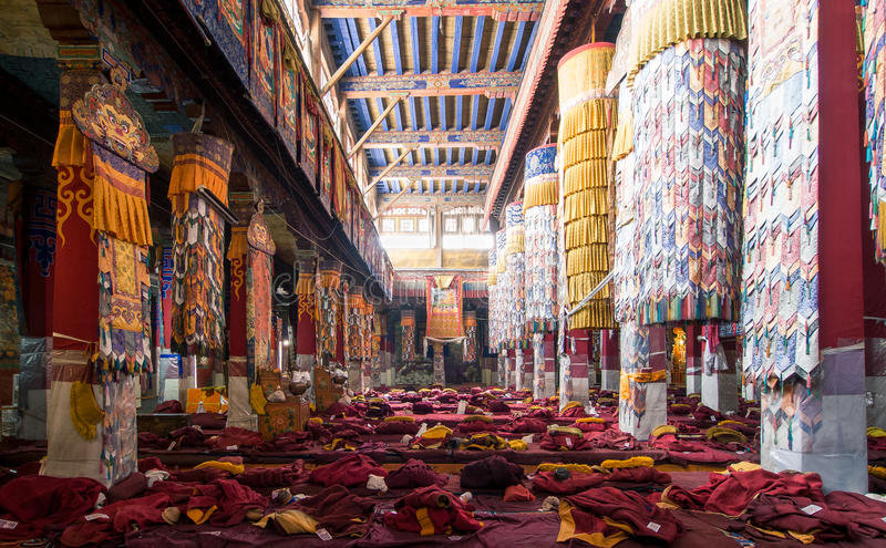 Drepung Monastery at ChinannDrepung Monastery in China stock photos