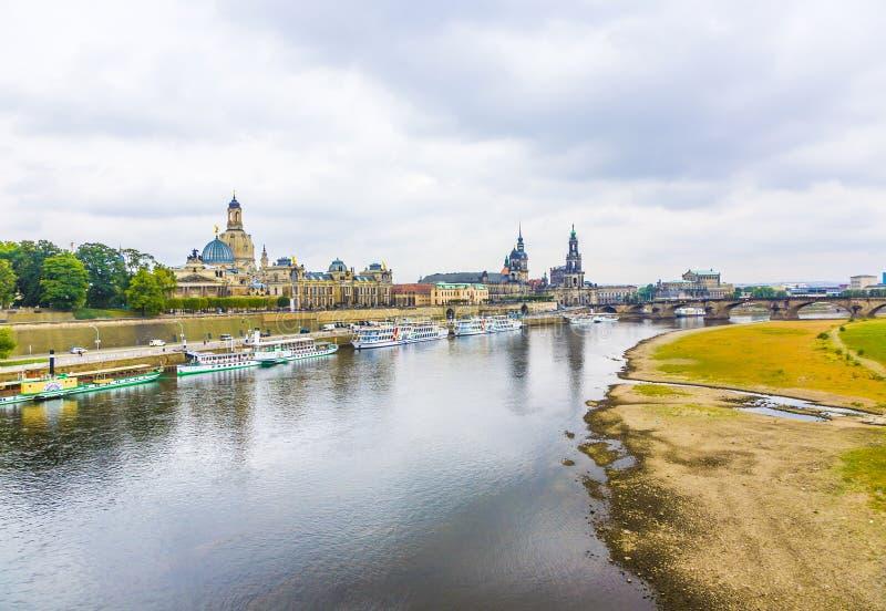 Dresda è una dei la maggior parte fotografie stock libere da diritti