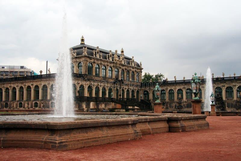 Dresda. Palazzo di Zwinger immagini stock libere da diritti