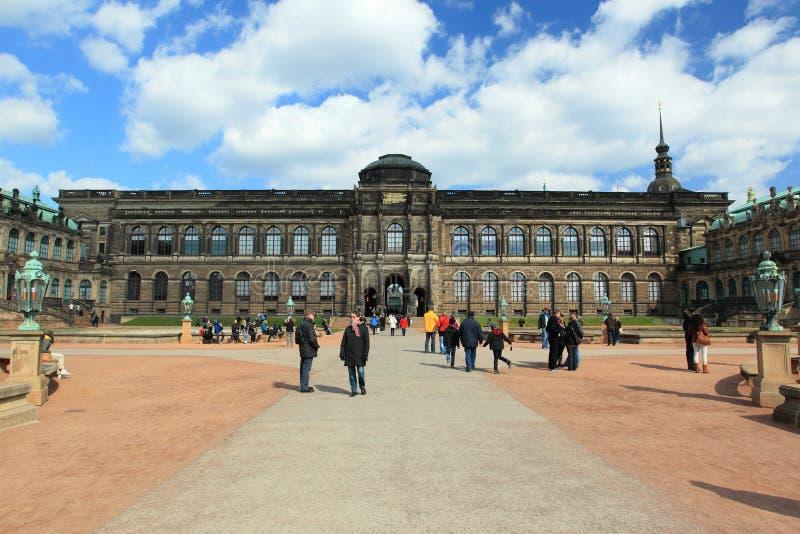 Dresda - Zwinger fotografie stock