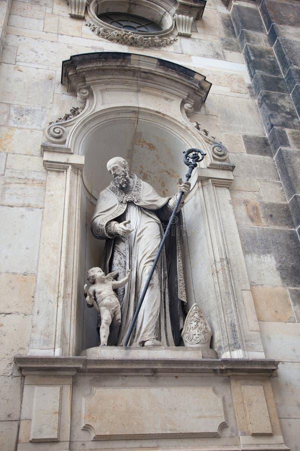 Dresde, Allemagne Statues et monuments photo libre de droits