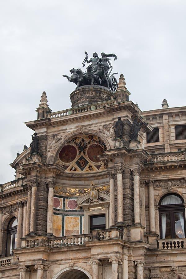 dresde l'allemagne Genres de ville Centre historique images libres de droits