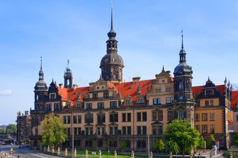 Dresde Royal Palace (château), Allemagne photographie stock libre de droits