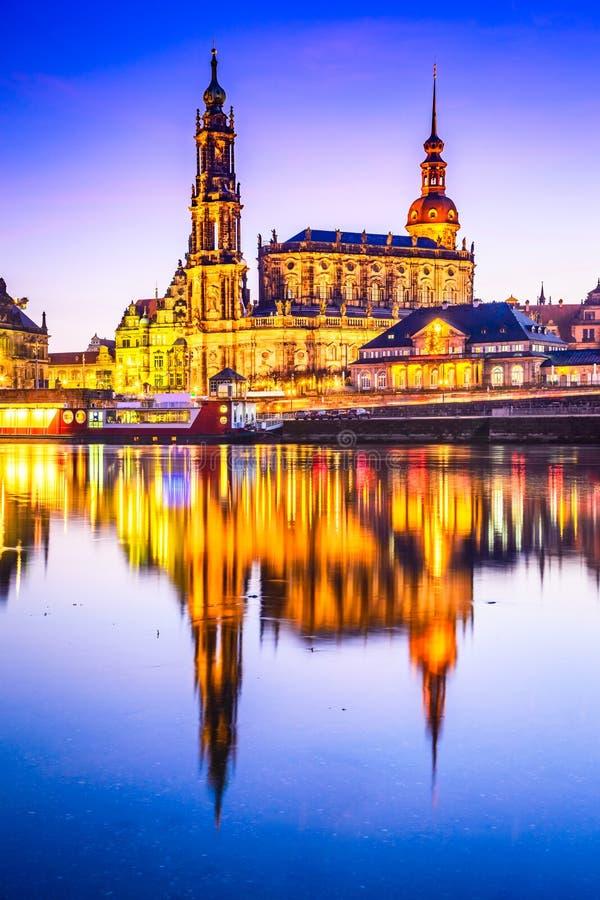 dresden Германия стоковая фотография rf