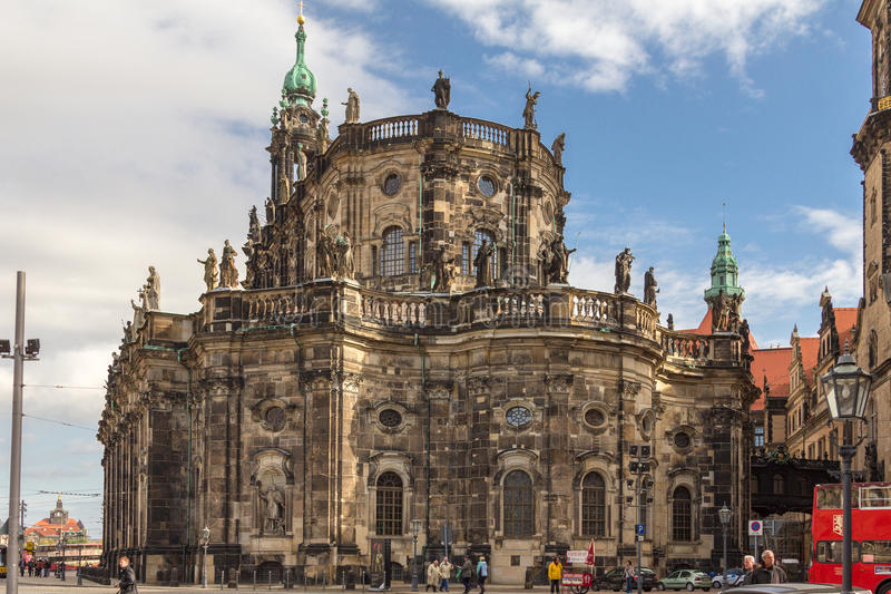 Dresden arkivbild