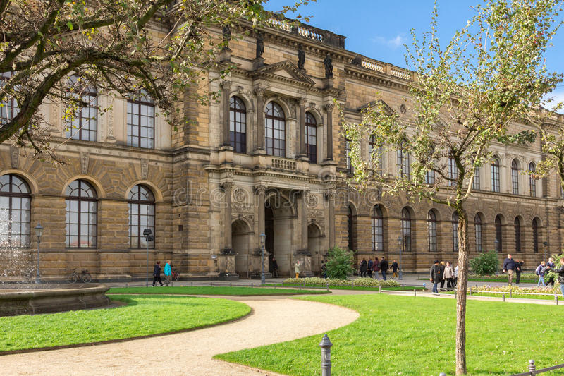 Dresden royaltyfria bilder