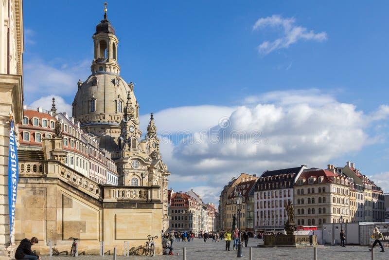 Dresden fotografering för bildbyråer