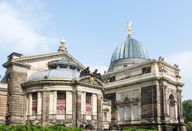 Dresden Academy of Fine Arts stock image
