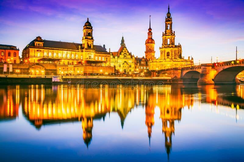 Dresden, Alemania fotos de archivo