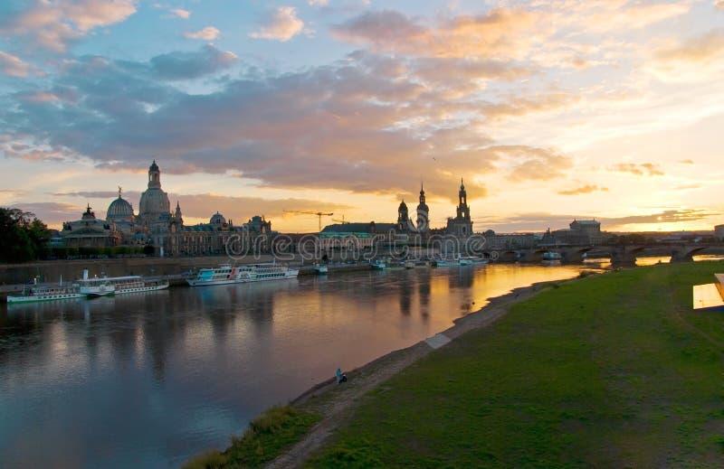 Download Dresden altstadt sunset stock image. Image of dresden - 16264733