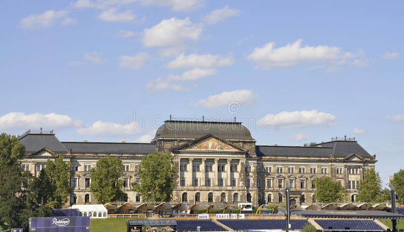 Dresden,august 28:Historic building from Dresden in Germany royalty free stock photo