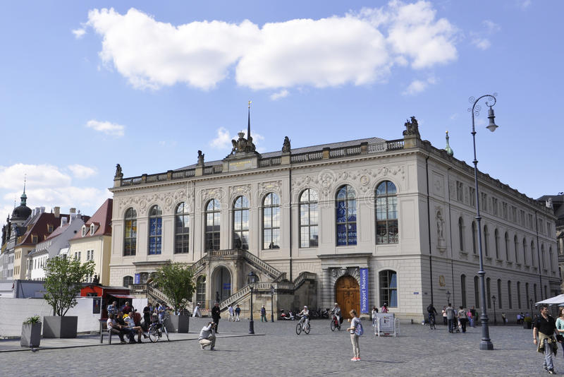 Dresden,august 28:Museum Building from Dresden in Germany stock photo