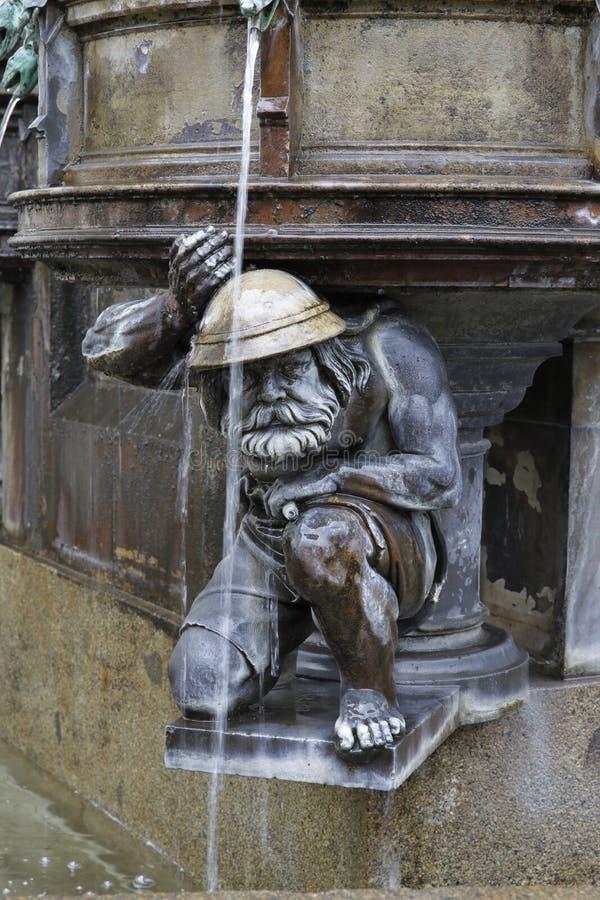 Dresden: Cholera-Brunnen stockfotos