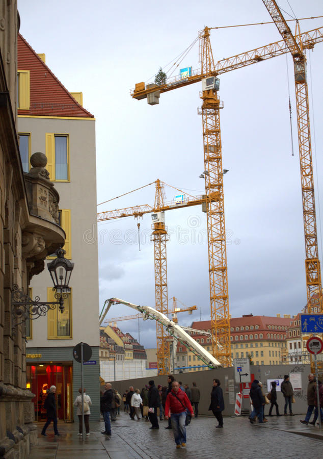Free Dresden Construction Site Royalty Free Stock Photo - 49209415