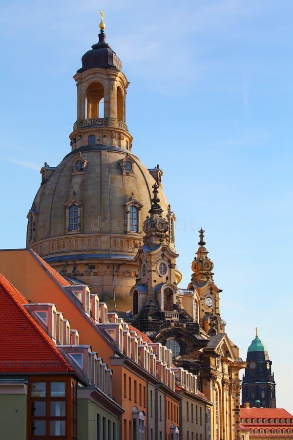 Dresden, Duitsland - Frauenkirche royalty-vrije stock fotografie