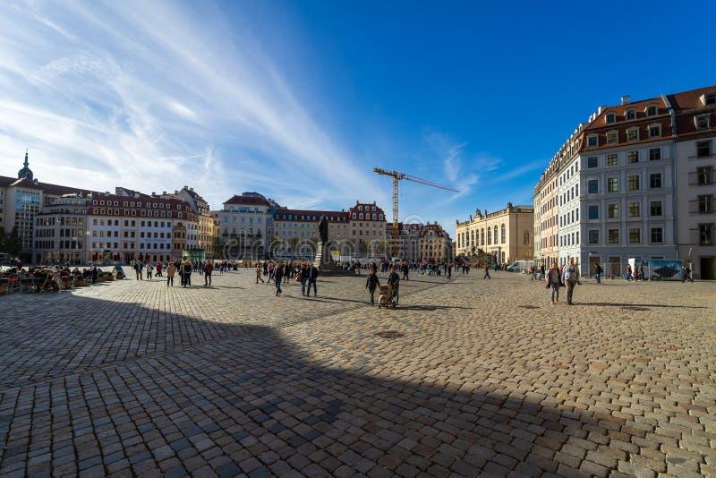 dresden El capital del estado libre de Sajonia en Alemania imagenes de archivo