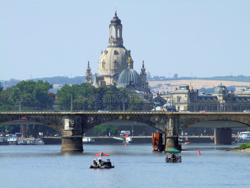 Dresden en Sajonia imágenes de archivo libres de regalías