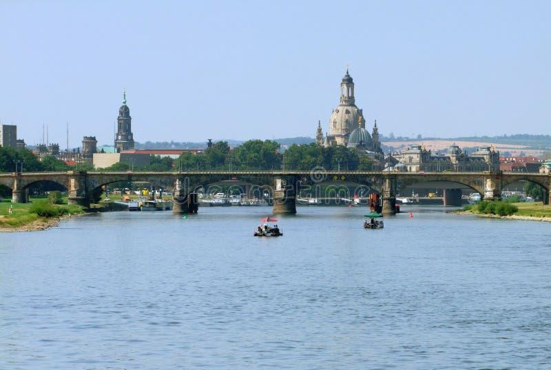 Dresden en Sajonia imagenes de archivo