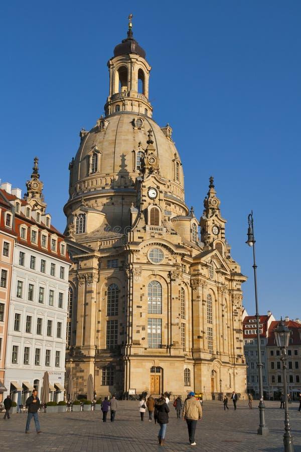 Dresden Frauenkirche royalty free stock image
