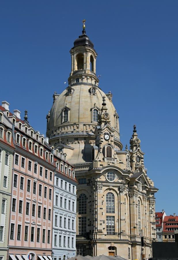 dresden frauenkirche obrazy stock