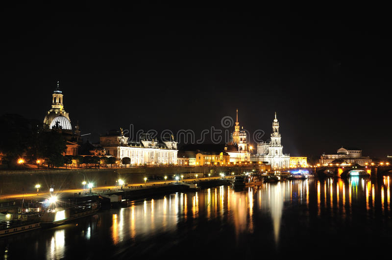 Download Dresden, Germany stock photo. Image of castle, night - 21788646
