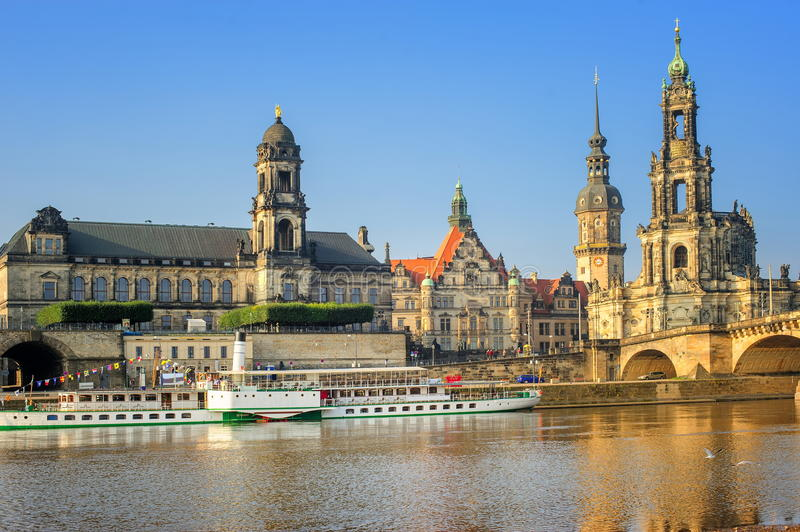 dresden germany royaltyfria bilder