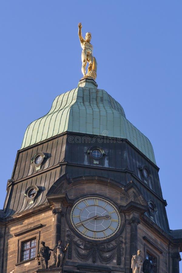 Dresden Germany City Hall royalty free stock photo