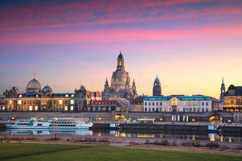 Dresden, Germany. royalty free stock images