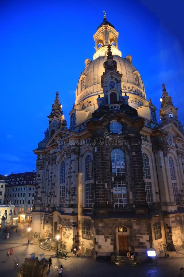 Dresden, Germany - Frauenkirche stock photo